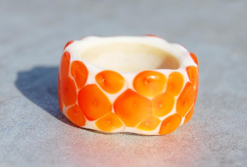 elfenbein/orange